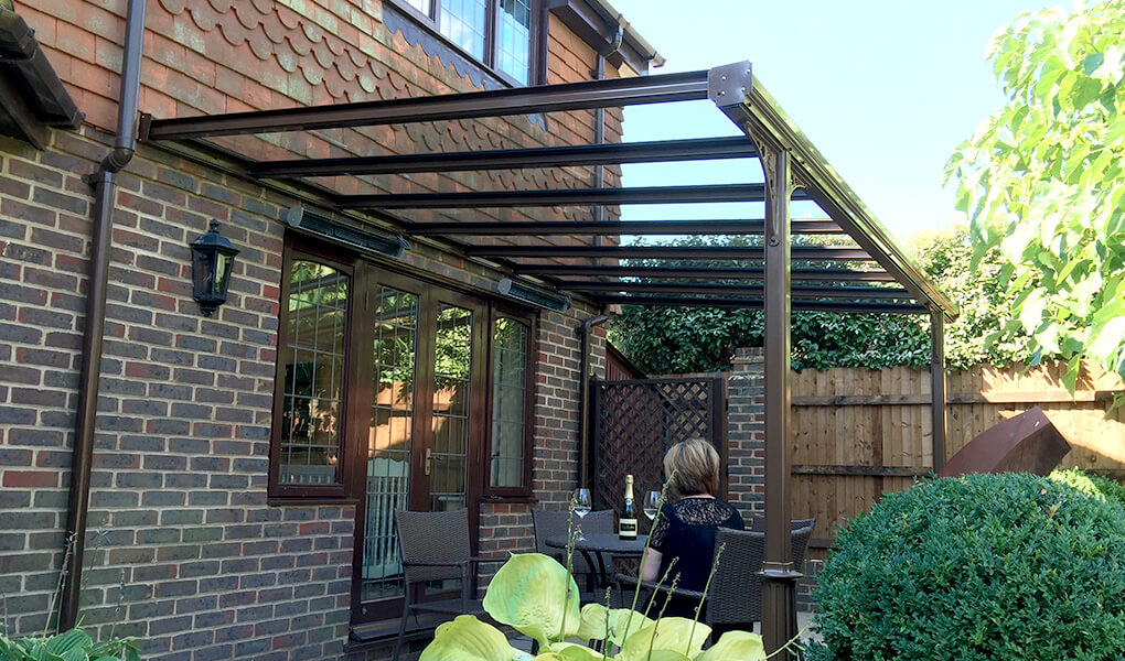 Rosewood uPVC Victorian veranda