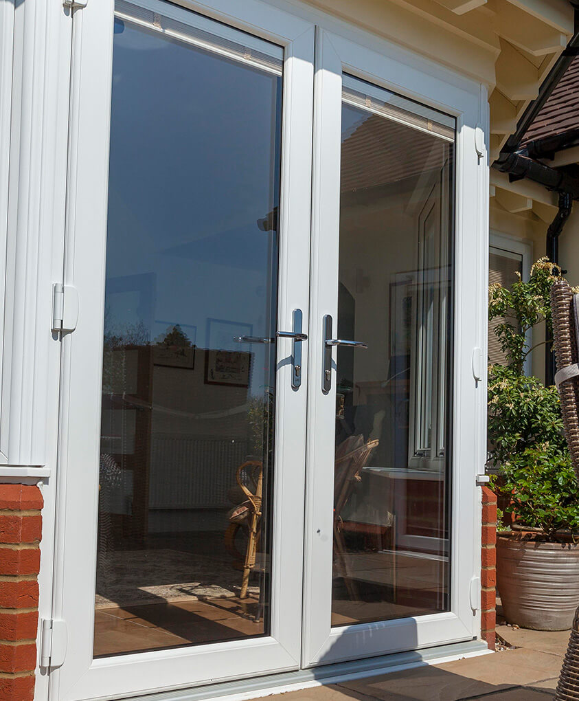upvc french doors in northamptonshire