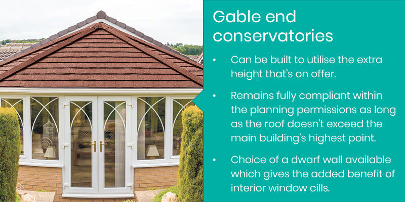 Gable end conservatory facts
