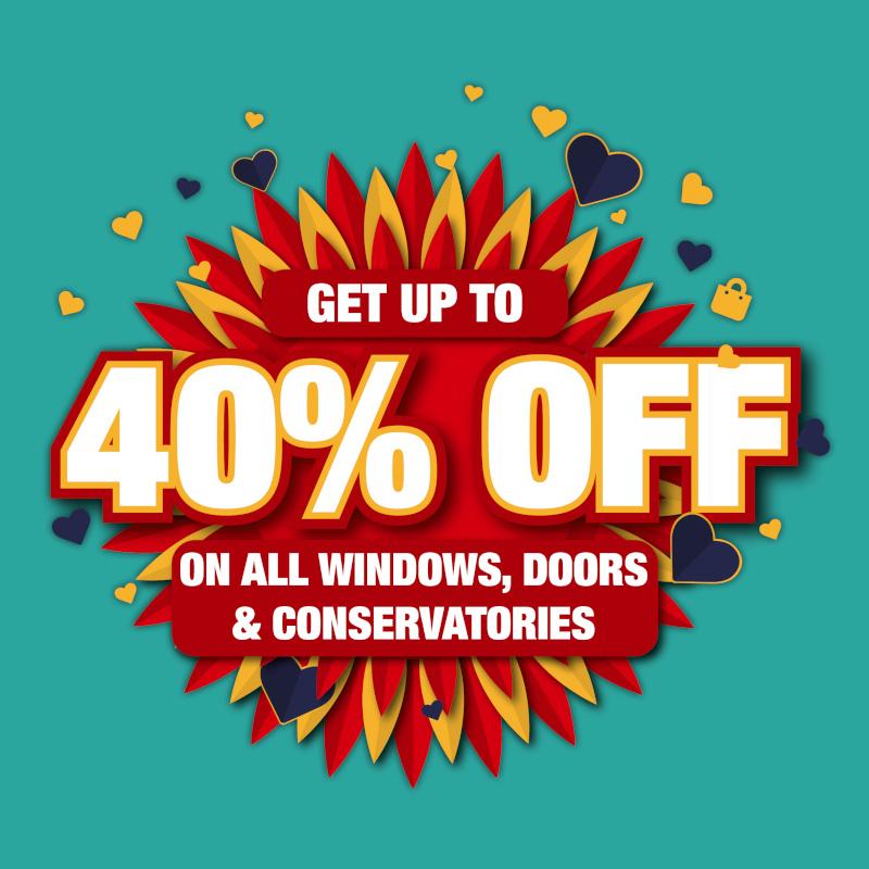40% off offer