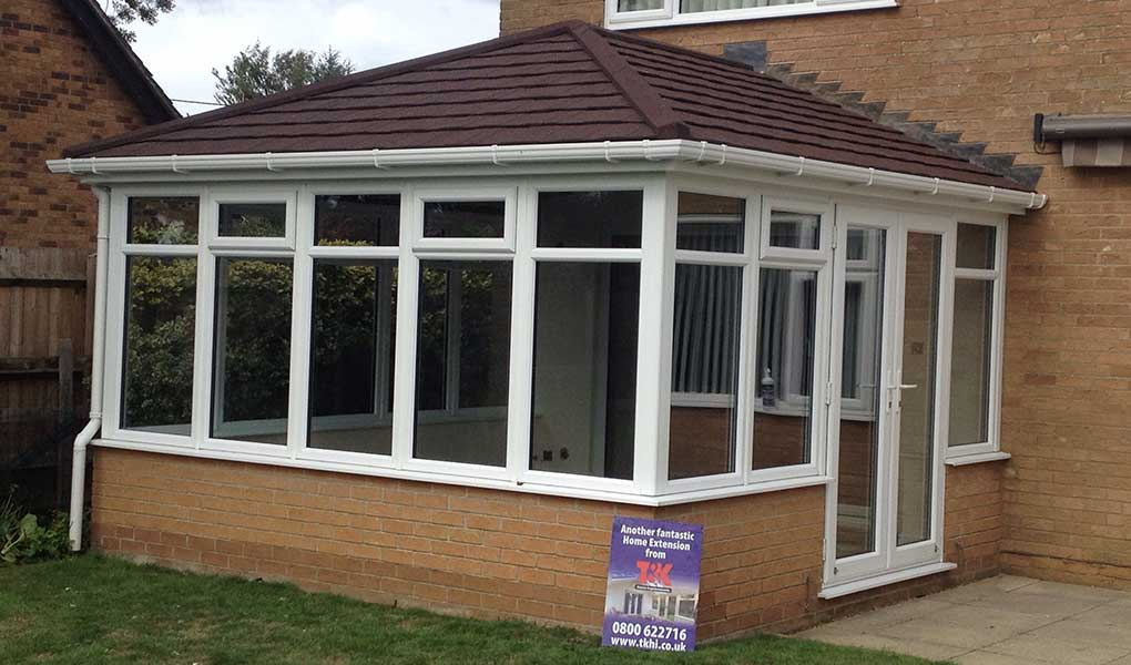 Supalite tiled roof conservatory