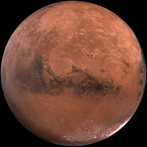 Mars - corby crater