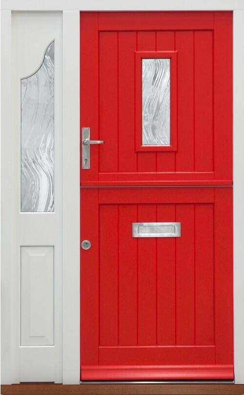 red front stable door