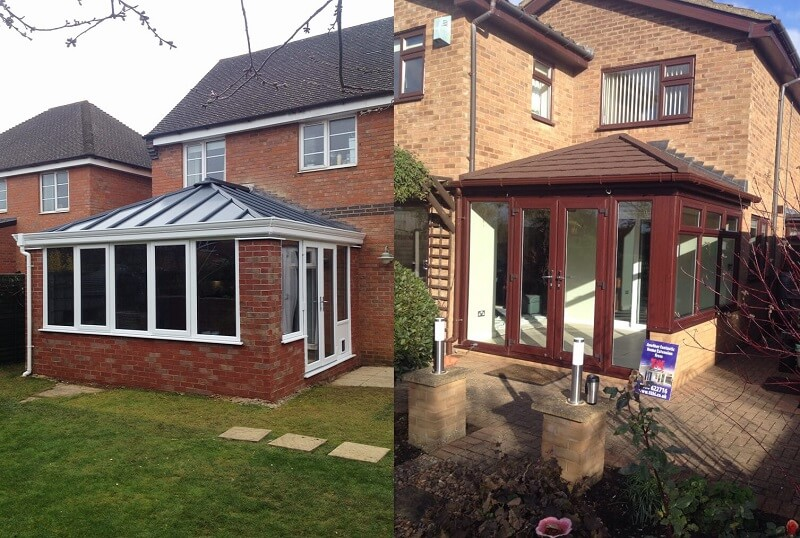 orangery and conservatory