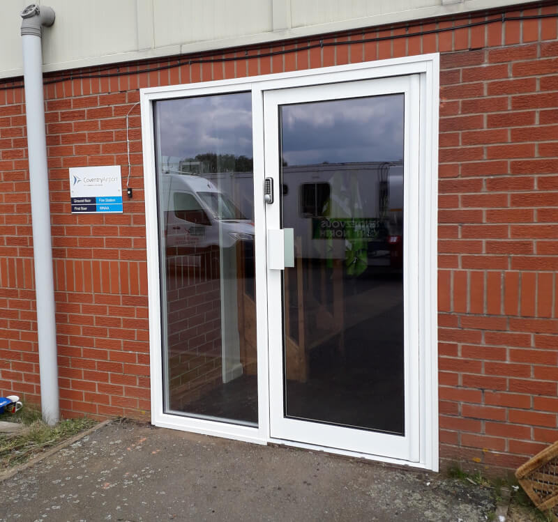 Aluminium door air ambulance hq