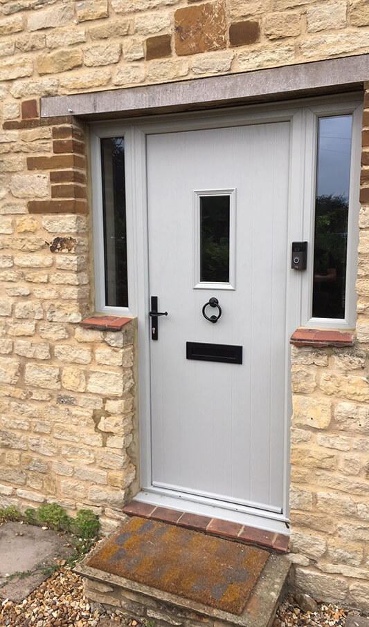 traditional composite entrance door