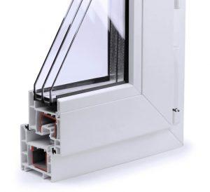 Triple glazed unit