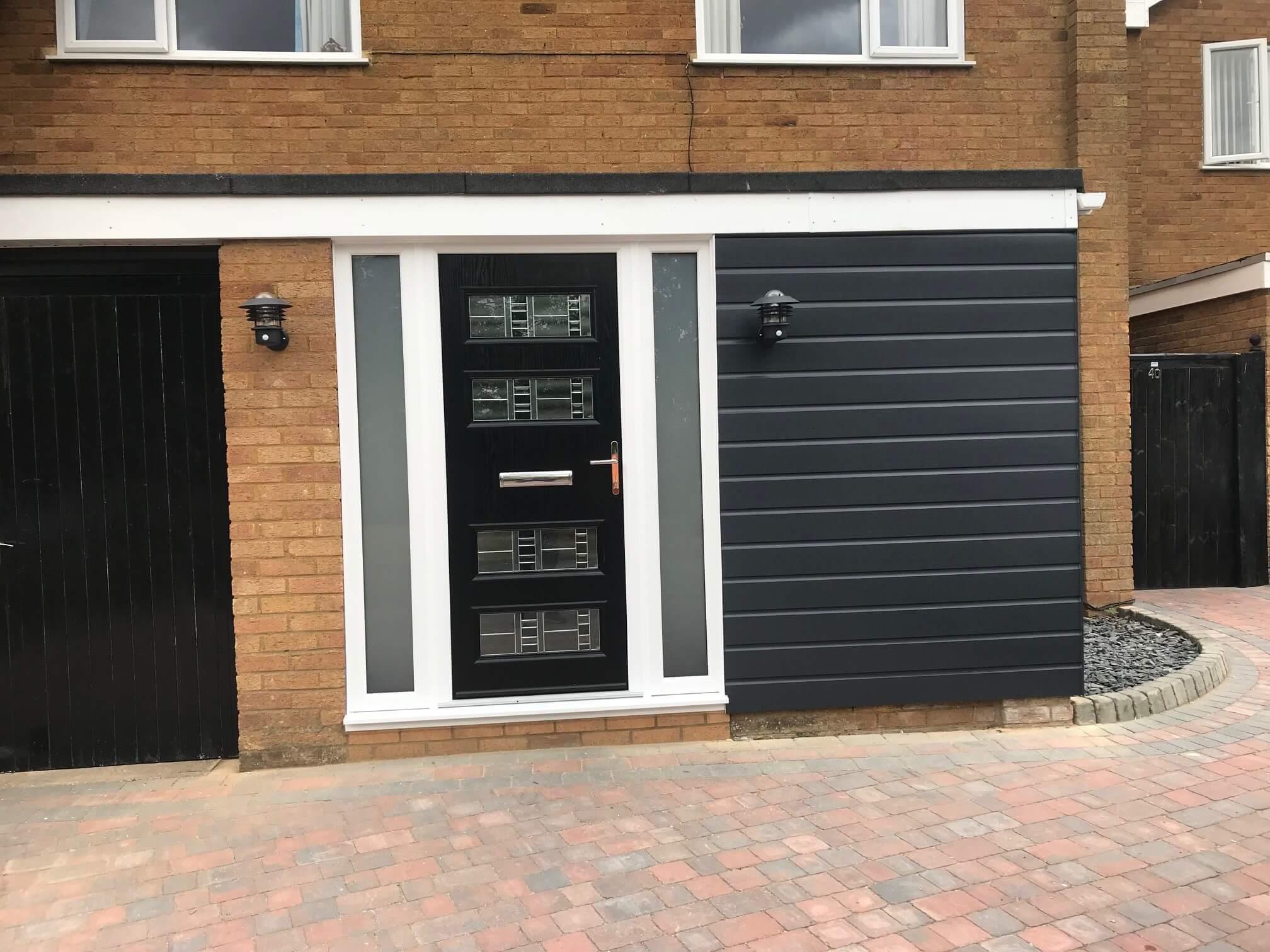Modern Composite Doors In Northampton To Milton Keynes T K