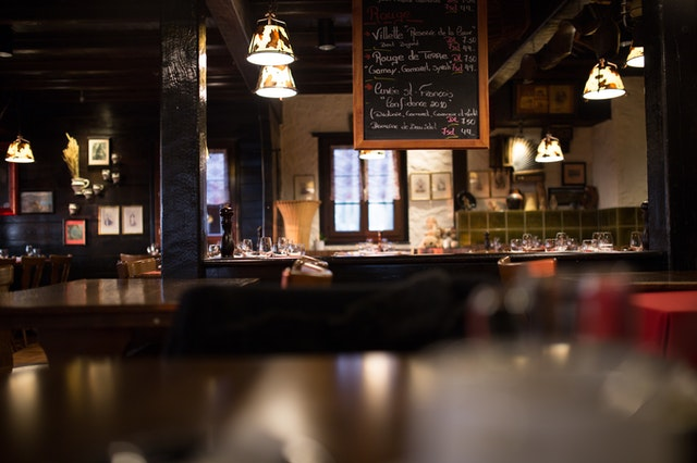 dark pub indoor