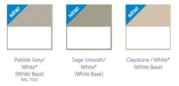 New window colours