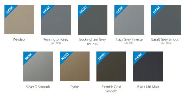 New uPVC colour options